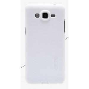 Пластиковый матовый нескользящий премиум чехол для Samsung Galaxy Grand Prime