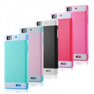 Двуцветный чехол для Lenovo K900 IdeaPhone серии DualColor