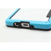 Силиконовый бампер для Samsung Galaxy A5 Голубой