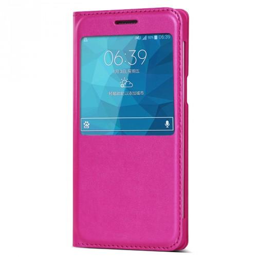 Чехол флип с окном вызова серия Colors для Samsung Galaxy A5