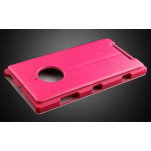 Чехол флип на пластиковой основе серия Colors для Nokia Lumia 830 Пурпурный
