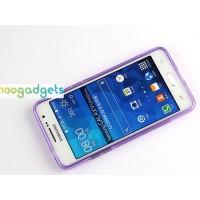 Силиконовый S чехол для Samsung Galaxy Grand Prime Фиолетовый