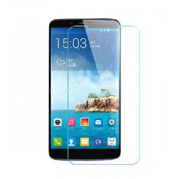 Ультратонкое износоустойчивое сколостойкое олеофобное защитное стекло-пленка для Alcatel One Touch Hero