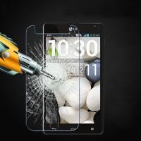 Ультратонкое износоустойчивое сколостойкое олеофобное защитное стекло-пленка для LG Optmus G