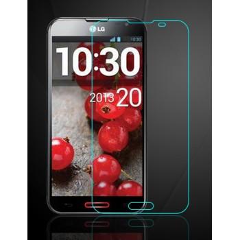 Ультратонкое износоустойчивое сколостойкое олеофобное защитное стекло-пленка для LG Optimus G Pro