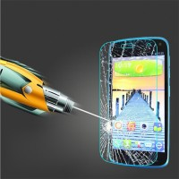 Ультратонкое износоустойчивое сколостойкое олеофобное защитное стекло-пленка для Fly IQ4410 Quad Phoenix