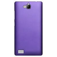 Пластиковый чехол Metallic для Huawei Honor 3c Фиолетовый