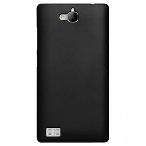 Пластиковый чехол Metallic для Huawei Honor 3c Черный