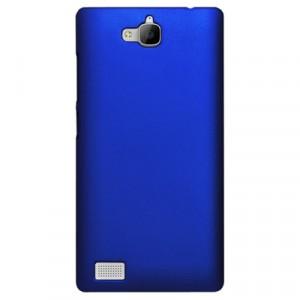 Пластиковый чехол Metallic для Huawei Honor 3c Синий