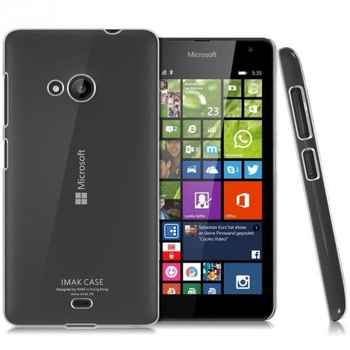 Пластиковый транспарентный чехол для Microsoft Lumia 535
