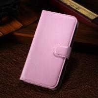 Чехол портмоне подставка с защелкой для Alcatel One Touch Pop C7 Розовый