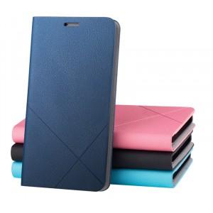 Чехол флип-подставка серии Cross lines для Huawei Honor 3c