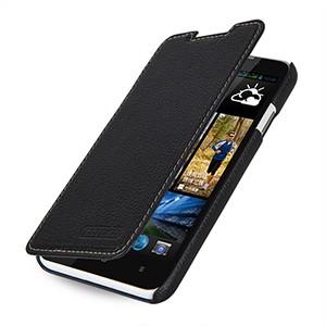 Кожаный чехол горизонтальная книжка (нат. кожа) на кожаной основе для HTC Desire 516