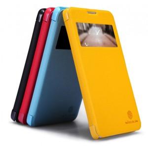 Чехол-флип с окном вызова серии ColorBurst для Huawei Honor 3x