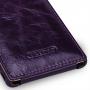 Эксклюзивный кожаный чехол вертикальная книжка (премиум нат. кожа с вощеным покрытием) для Sony Xperia Z3
