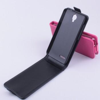 Чехол вертикальная книжка с магнитной застежкой для Alcatel One Touch Idol 2 mini