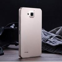 Металлический чехол SlimMetall для Huawei Honor 3x Бежевый