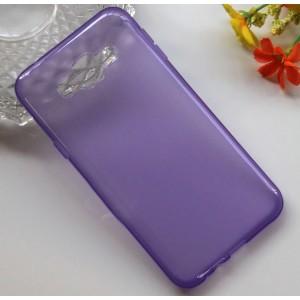 Силиконовый матовый непрозрачный чехол для Samsung Galaxy E7