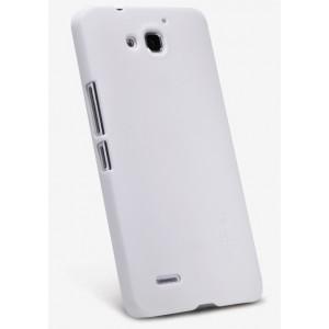 Премиум матовый пластиковый чехол для Huawei Honor 3x