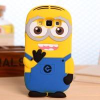 Силиконовый дизайнерский фигурный чехол миньон для Samsung Galaxy A7