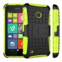 Силиконовый чехол экстрим защита с функцией подставки для Nokia Lumia 530