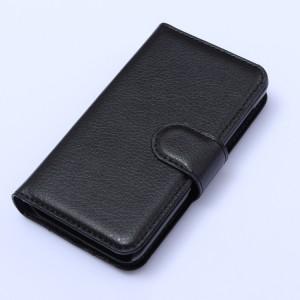 Чехол портмоне подставка с защелкой для Nokia Lumia 530 Черный