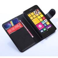 Чехол портмоне подставка с защелкой для Nokia Lumia 530