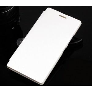 Чехол флип на пластиковой основе серия Colors для Lenovo P70 Белый