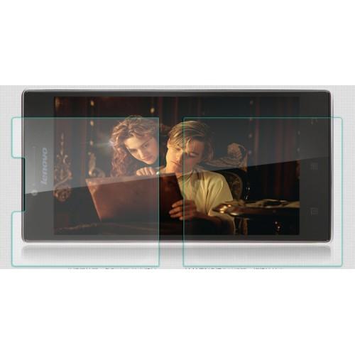 Ультратонкое износоустойчивое сколостойкое олеофобное защитное стекло-пленка для Lenovo P70