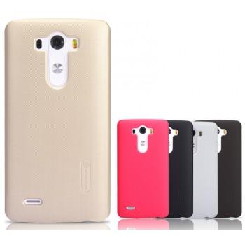 Премиум матовый пластиковый чехол LG Optimus G3
