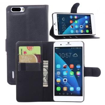 Чехол портмоне подставка с защелкой для Huawei Honor 6 Plus
