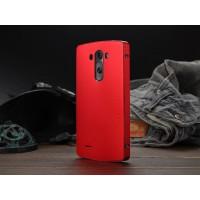 Металлический чехол SlimMetall для LG Optimus G3 Красный