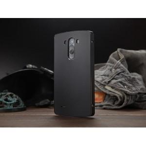 Металлический чехол SlimMetall для LG Optimus G3 Черный
