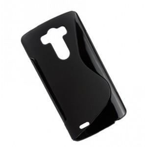 Силиконовый чехол S для LG Optimus G3 Черный