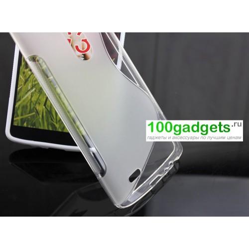 Силиконовый чехол S для LG Optimus G3 Серый