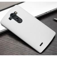 Пластиковый чехол для LG Optimus G3 Белый