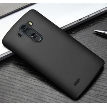 Пластиковый чехол для LG Optimus G3 Черный