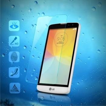 Ультратонкое износоустойчивое сколостойкое олеофобное защитное стекло-пленка для LG L Bello