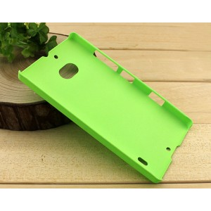 Пластиковый матовый чехол с защитой от царапин для Nokia Lumia 930 Зеленый