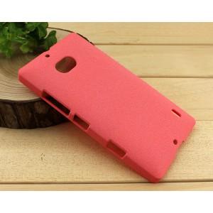Пластиковый матовый чехол с защитой от царапин для Nokia Lumia 930 Красный