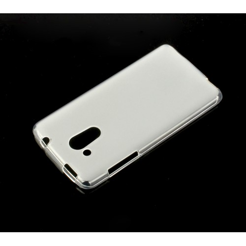 Силиконовый матовый полупрозрачный чехол для Acer Liquid Z500 Белый