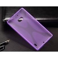 Силиконовый X чехол для Nokia Lumia 930 Фиолетовый