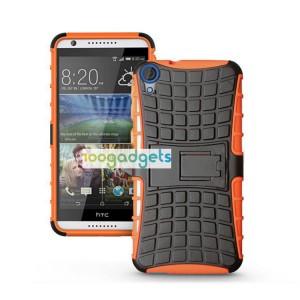 Силиконовый чехол экстрим защита для HTC Desire 820 Оранжевый