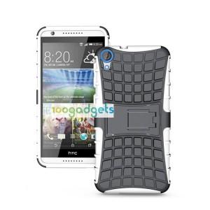 Силиконовый чехол экстрим защита для HTC Desire 820 Белый