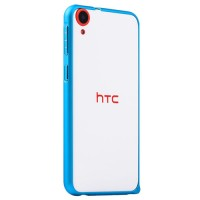 Металлический бампер для HTC Desire 820 Синий