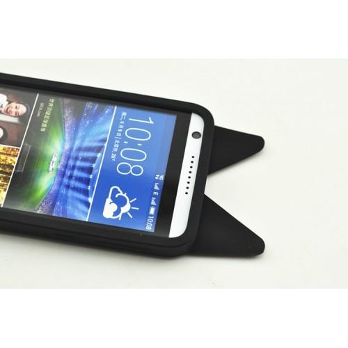 Силиконовый дизайнерский фигурный чехол  для HTC Desire 820
