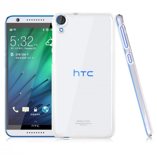 Пластиковый транспарентный чехол для HTC Desire 820