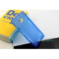 Силиконовый чехол S для Nokia Lumia 930 Синий