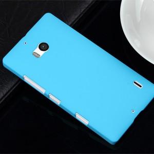 Пластиковый чехол для Nokia Lumia 930 Голубой
