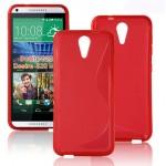 Силиконовый S чехол для HTC Desire 620
